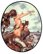 Mermaid Siren Call Singing Art Card
