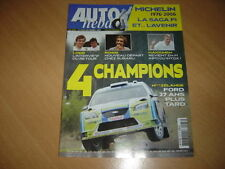 Auto hebdo N°1573 207 Spider.TVR Sagaris.WRC.Michelin