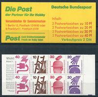 Bund MH 20 a postfrisch BRD Markenheftchen Unfallverhütung C + D 699,698,696...
