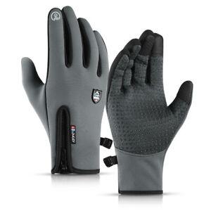 Thermal Windproof Winter Gloves Men Women Touch Screen Warm Outdoor Mittens
