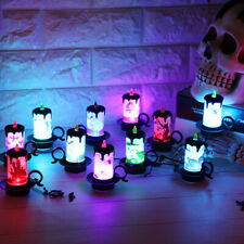 Random LED candle flameless electronic light rechargeable Halloween limited