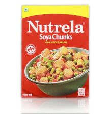 Nutrela Soya Mini Chunks Dry Soya Chunks Cooking  200 grams Free Shipp