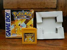 Pokemon Versión Amarillo Para Nintendo Gameboy En Caja Con Insert