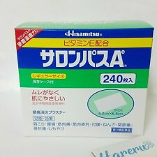 Japan HISAMITSU SALONPAS Ae Pain Relieving Patch 240 Sheets