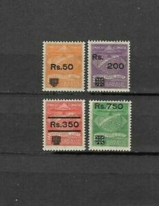 BRAZIL-Y&T#21-24,MLH, COMPANIE CONDOR. PRIVATE ISSUE. OVERPRINTED,4 VALUES.VF++