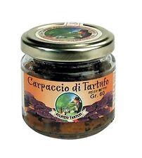Carpaccio di Tartufo Estivo - 60 gr - Sulpizio Tartufi