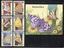 BUTTERFLY ON SOMALIA 1998 MNH