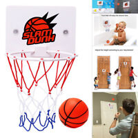 Basketball Hoop Mini Basket Ball Play Game Kids Office Room Indoor Party Toys