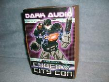 Dark Audio Exclusive Cyber City Con Transformer Ltd Ed 66/150 2016 New