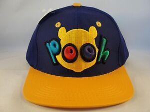 Kids Youth Size Winnie The Pooh Vintage Snapback Cap Hat