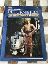Star Wars Return Of The Jedi Picture Puzzle Book Toy Happy House 1983