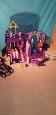 Monster High Playset School House Doll Pets Furniture Car Pen Accessories Bundle