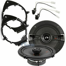 "Kicker 44KSC6504 KS Series 6.5"" Coaxial Speaker Kit for 2005-15 GM Vehicles"