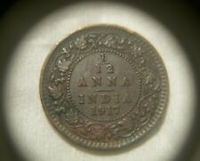 1917  1/12 ANNA British India George V King & Emperor