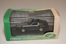A2 1:43 EBBRO 417 NISSAN FAIRLADY 280Z T BAR TOP BLACK GREY MIB