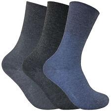 3 Pack Ladies Thin Loose Wide Top Non Elastic Binding Thermal Diabetic Socks Thrdial03