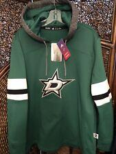 Adidas Dallas Stars Woman's Collection Premium Hooded Sweatshirt Green 2xl NWT