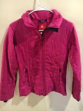 Columbia Omni-Heat Mighty Lite Pink Puffer Winter Jacket Women's XS           F1