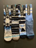 4 Pairs of Stance 200 Needle Count Dwyane Wade Men's Socks S//M 6-8.5