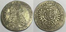 G5273 - RDR Österreich XV Kreuzer 1674 Wien RAR Silber Leopold I.1658-1705