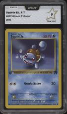 2000 Pokemon SQUIRTLE - 68/82 - 1. Edition Team Rocket Italian - PCA 9 (= PSA 9)