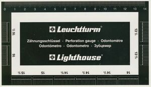 Lighthouse Perforation Gauge - A nice Quality item - German made - Easy to use