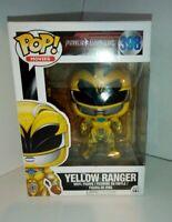 Funko POP Vinyl Power Rangers Jaune Ranger nº 398 de collection modèle Figurine