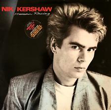 NIK KERSHAW - Human Racing (LP) (VG/G++)