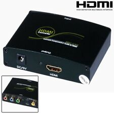 HDMI to Component RBG Video S/PDIF Coax Optical Toslink Audio Converter Adapter