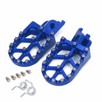 CNC Wide Foot Pegs Pedals Rests For Honda CR125 CR250 CR500 CRF450R/X CRF250R/X
