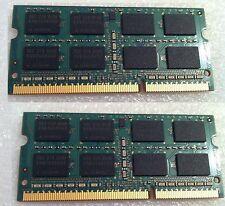 Asus X53E K53E RAM Used DDR3 PC3 2 X 4 GB = 8 GB 8GB