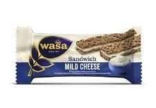 24 Riegel Wasa Sandwich Käse 37g / Roggen Knäckebrot Riegel mit einer Füllung