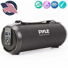 Pyle PBMSPG3BK Wireless & Portable Bluetooth BoomBox Speaker System W/FM Radio