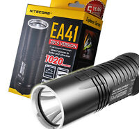 Nitecore EA41 1020 Lumen Compact LED Flashlight Searchlight - Uses 4x AA