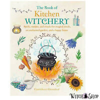 Book of Kitchen Witchery Spells Ritual Recipe Garden Home Cerridwen Greenleaf