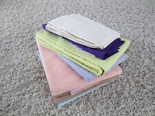 NEW SOLID COLOR FABRIC SEWING MATERIAL, LOT
