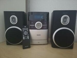 Philips Stereoanlage mit CD, Kassette und Radio