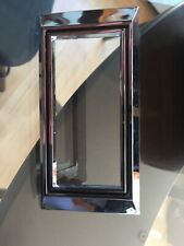 1968 Camaro NOS side marker bezel GM 3925429 Very early black paint in groove