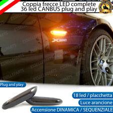 COPPIA FRECCE LATERALI FUME' NERO NERE PROGRESSIVE LED BMW X5 E53 DINAMICHE