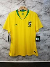 Brazil Home Soccer Jersey 89394-749 Nike Womens XL Yellow 90$