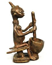 African Art Africain Old Bronze Item - Agni Anyi 9 Cms - Visit our eBay.fr Shop