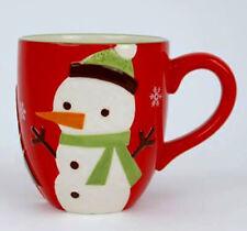 Christmas Mug Snowman One Hundred 80 Degrees Holiday Ceramics