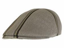 Kangol Men's Angle Stripe 507 Flat Cap Hat