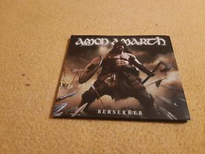 Digipack CD Amon Amarch - Berserker 2019 Metl Blade Records