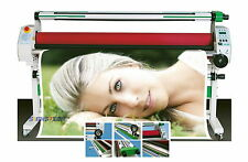"""New 1520mm 60"""" Hot Cold Laminator Roll Laminating Heat Assistance+Auto Take Up"""
