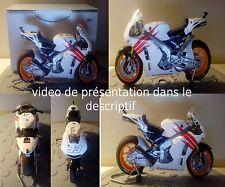 Maquette moto pre saison Marc Marquez tamiya no minichamps au 1/12 éme