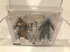 Assassin's Creed Ezio Figure 2-Pack (Florentine Scarlet & Caspian Teal) NECA MIB