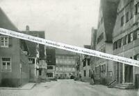 Öttingen - Blick vom Marktplatz zum Schloss - um 1925        V 10-15