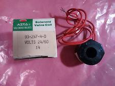 NIB, ASCO Red Hat Solenoid Valve Coil 992574D/ 99-257-4-D, 24/60 volts