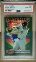 1993 Topps Finest Wade Boggs refractor PSA 8 New York Yankees Hall of Fame rare